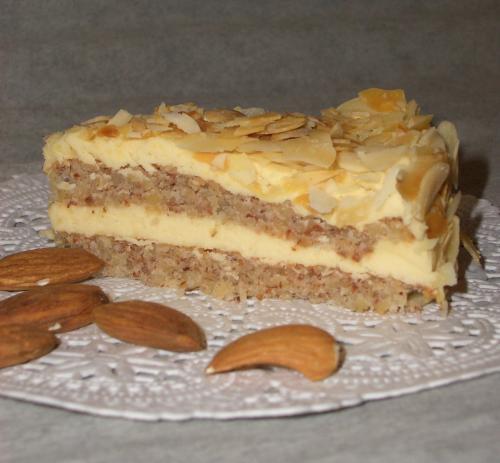 Торт Миндальный, рецепт