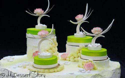 MyDessertStory, торты на заказ, свадебные торты