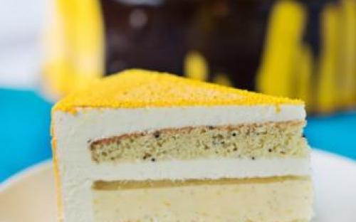 MyDessertStory, торты на заказ, Торт Соренто. Лимон, ваниль, Лимончелло и чай Earl Grey