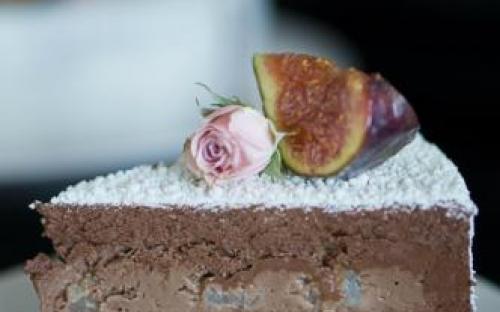 MyDessertStory, торты на заказ, Торт Hera. Груша, шоколад и соленая карамель