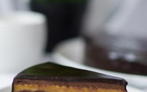 MyDessertStory, торты на заказ, Торт Фундук-Манго