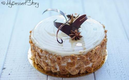 MyDessertStory, торты на заказ, Торт Морковный
