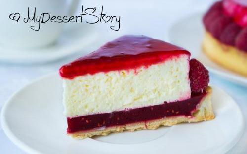 MyDessertStory, торты на заказ, Тарт Танго (красный перец-малина-пармезан)