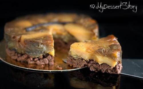 MyDessertStory, торты на заказ, Тарт Татен. Яблоки, карамель и шоколад