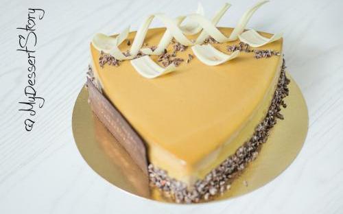 MyDessertStory, торты на заказ, Торт Три шоколада