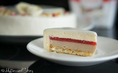 MyDessertStory, торты на заказ, Торт Клубника-Кокос