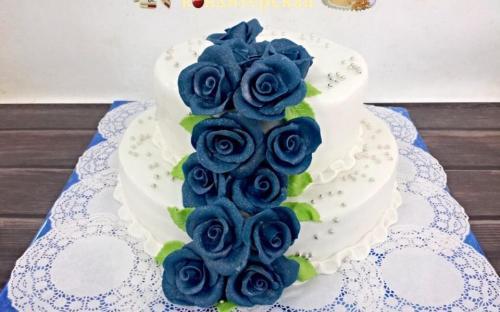 Свадебный торт на заказ кондитерская Сладушка, Тюмень