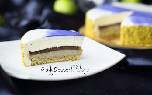 MyDessertStory, торты на заказ, Торт Инжир