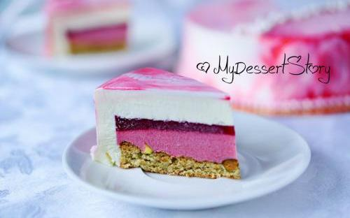 MyDessertStory, торты на заказ, Торт Клюква-Розмарин