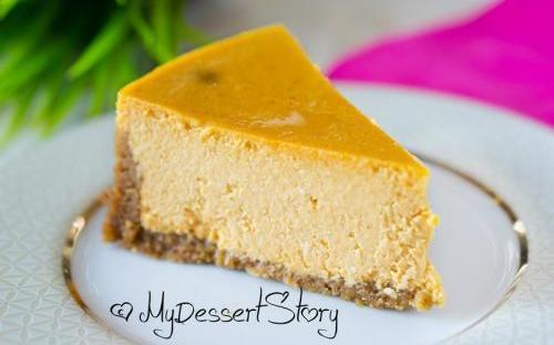 MyDessertStory, торты на заказ, Тыквенный чизкейк