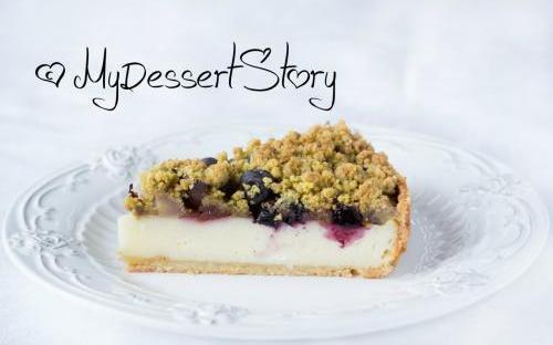 MyDessertStory, торты на заказ, Тарт с голубикой