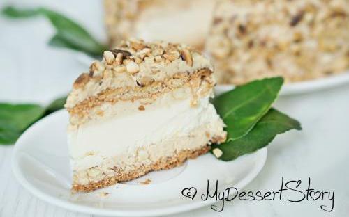 MyDessertStory, торты на заказ, Арахисовый чизкейк