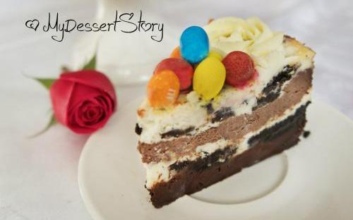MyDessertStory, торты на заказ, Чизкейк Шоколадное Безумие
