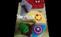 5 с супергероями. DolceVita, кондитерская, Дмитров, торты на заказ
