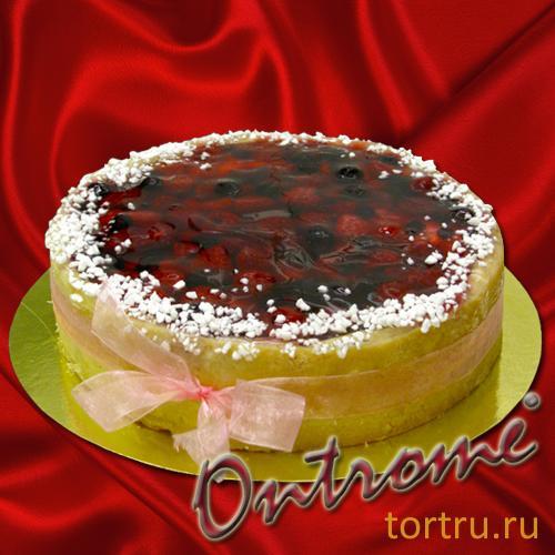 Фото песочно-фруктового торта
