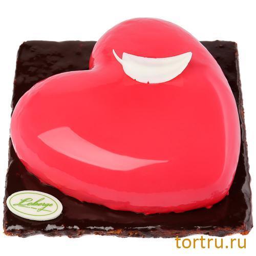 """Торт """"Малиновый (Сердце красное)"""", Леберже, Leberge, кондитерская"""