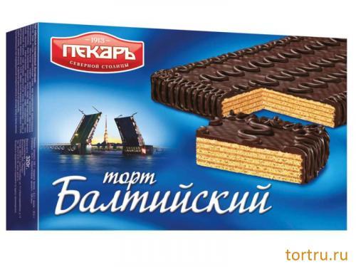"""Торт вафельный """"Балтийский"""", Пекарь"""