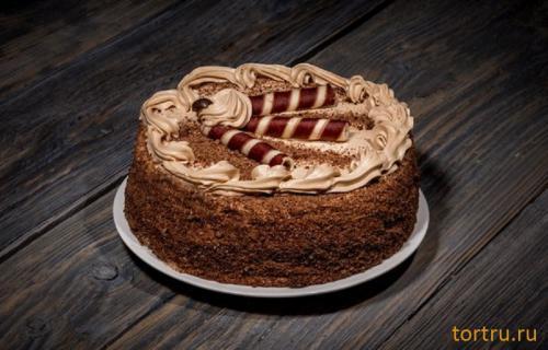 """Торт """"Мушкетер"""", сеть кондитерских магазинов Бисквит, Смоленск"""