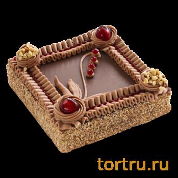 """Торт """"Ленинградский"""", Венский Цех фабрики Большевик, Москва"""