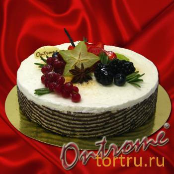 """Торт """"Вкус Ванили"""", Онтроме, кафе-кондитерская, Санкт-Петербург"""