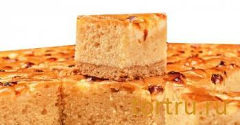 """Кекс """"Шарли с яблоками"""", Кристоф, кондитерская фабрика десертов, Санкт-Петербург"""