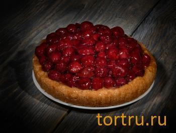"""Торт """"Вишневый чизкейк"""", сеть кондитерских магазинов Бисквит, Смоленск"""