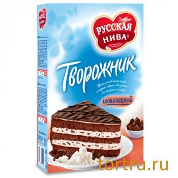 """Торт """"Творожник"""" с шоколадом, Русская Нива"""