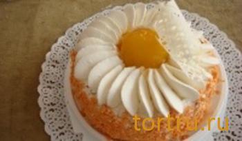 """Торт """"Йогуртово-персиковый"""", Ахтырский хлебозавод"""