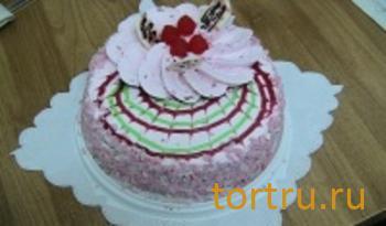 """Торт """"Йогуртово-клубничный"""", Ахтырский хлебозавод"""