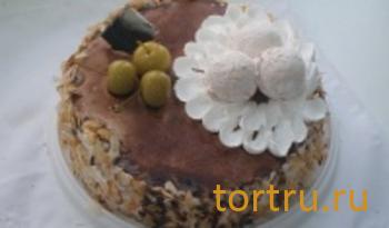 """Торт """"Йогуртово-миндальный"""", Ахтырский хлебозавод"""