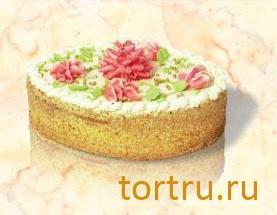 """Торт """"Бисквитно-кремовый"""", Хлебокомбинат Кристалл"""