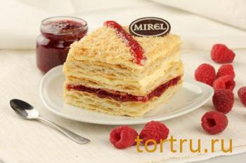 """Торт """"Наполеон с малиной"""", Mirel"""