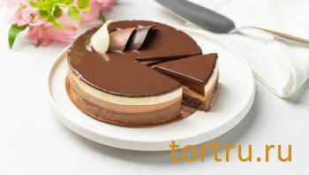 "Торт ""Три шоколада"", ВкусВилл"