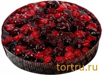"""Пирог """"Австрийский ванильно-ягодный"""", Лента"""
