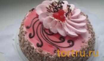 """Торт """"Йогуртово-малиновый"""", Ахтырский хлебозавод"""