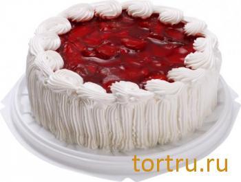 """Торт """"Йогуртовый"""" клубника, Лента"""