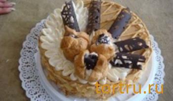 """Торт """"Миндальный"""", Ахтырский хлебозавод"""