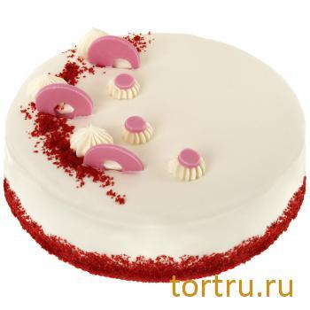 """Торт """"Красный Бархат"""", мастерская десертов Бисквит, Москва"""