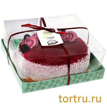 """Торт """"Черничный"""", мастерская десертов Бисквит, Москва"""