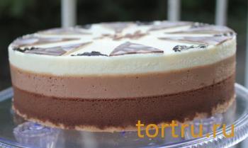 "Торт ""Три шоколада"", Лайтком, кондитерская, Москва"