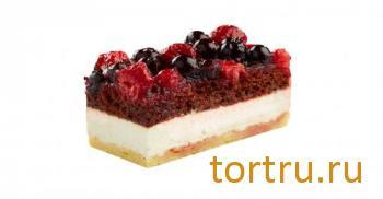 """Торт """"Ягодно-творожный"""", Кристоф, кондитерская фабрика десертов, Санкт-Петербург"""