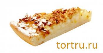 """Пирог """"Яблочный с овсяными хлопьями"""", Кристоф, кондитерская фабрика десертов, Санкт-Петербург"""