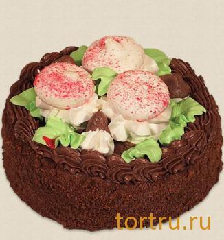 """Торт """"Ванильный с грибом"""", кондитерская фабрика Амарас, Москва"""