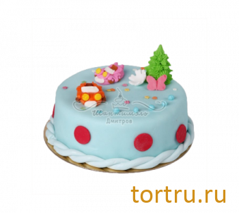 """Торт """"Детский 2"""", французская кондитерская Шантимэль, Москва"""