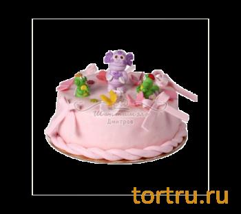 """Торт """"Детский 1"""", французская кондитерская Шантимэль, Москва"""