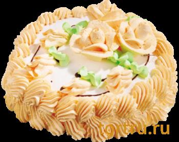 """Торт """"Йогуртовый малина"""", кондитерское производство Метрополь, Санкт-Петербург"""