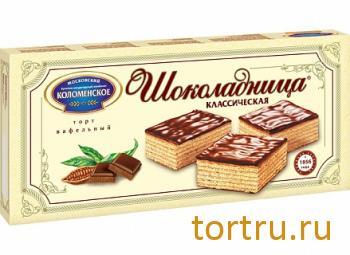 """Торт вафельный """"Шоколадница классическая"""", Коломенское"""