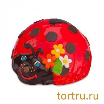 """Торт """"Божья коровка"""", фирма Татьяна, Воронеж"""