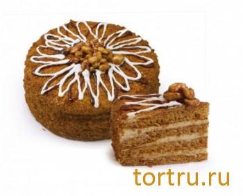 """Торт """"Домашний медовый"""", Хлебозавод Восход Новосибирск"""