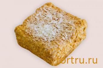 """Торт """"Наполеон"""", кондитерская Чайка, Калуга"""